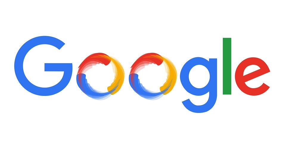 "Google logo with smudged ""O""s"
